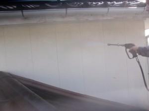 外壁高圧洗浄②